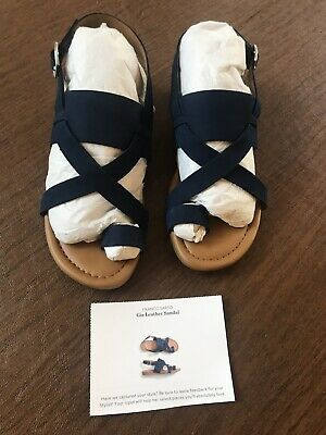 66ec4be2814 NEW Franco Sarto Artist Collection Womens Sz 6 1 2 Navy Suede Leather  Sandals