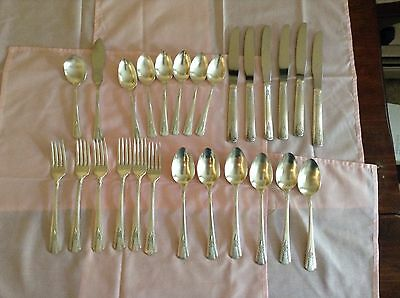 Oneida silverplate Genesee mixed lot 26 pieces