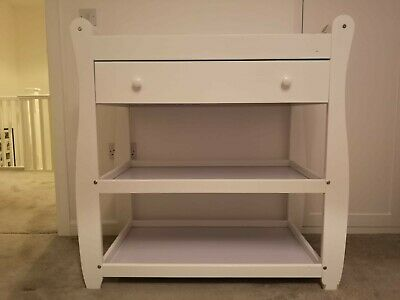 Babymore Sleigh Changer with Drawer