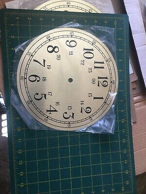 Vintage Standard Numeral Metal Clock Face Industrial Steampunk Wall Art
