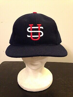 22f2402c961 Mens Ebbets Field Flannels US Tour of Japan 1934 Wool Fitted Baseball Cap-7-