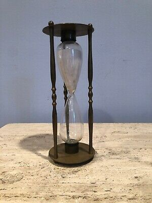 Antique Vintage Sand Clock Glass - 27 Minutes 40 Seconds