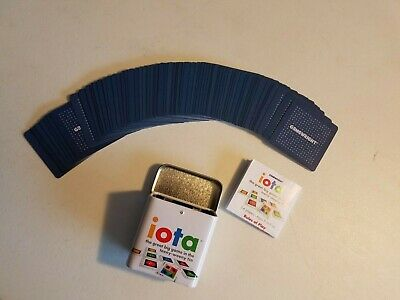 """IOTA Card Game Family Travel """"Great big game in a teeny weeny tin"""" Complete Game"""