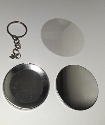 """25 Badge A Minit Size 2-1/4"""" Key Chain Buttons + Priority Shipping"""