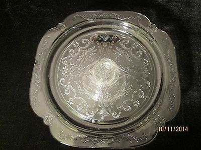 Indiana Glass Recollections Madrid Footed Cake Stand