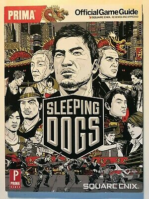 Sleeping Dogs Prima Official Game Guide PS3 Xbox 360 Book