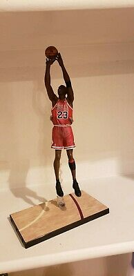 Michael Jordan Pro Shots 1998 NBA Finals Winning Last Shot  Custom Figure