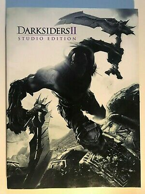 Darksiders 2 Studio Edition Official Game & Strategy Guide Book Dark Siders II