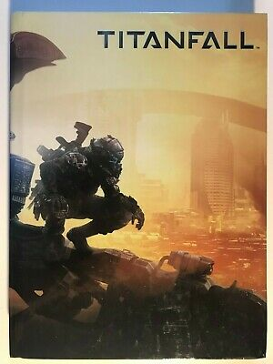 Prima Titanfall Limited Edition Hardcover Book Guide Strategy Game