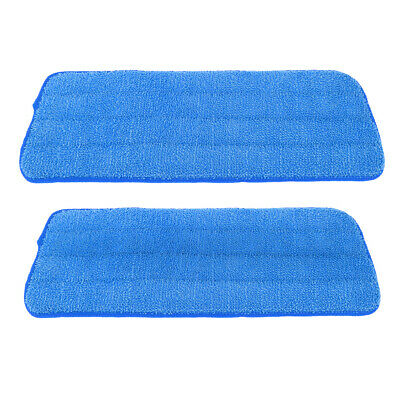 2 Pieces/Pack Free Hand Washing Mop Cloths/Pad 15.8 Inch L × 4.9 Inch W Blue