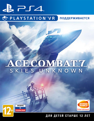Ace Combat 7: Skies Unknown PS4 New & Sealed