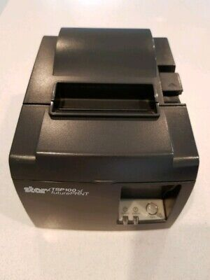 Star TSP100 futurePRNT Thermal Receipt Printer USB Connection