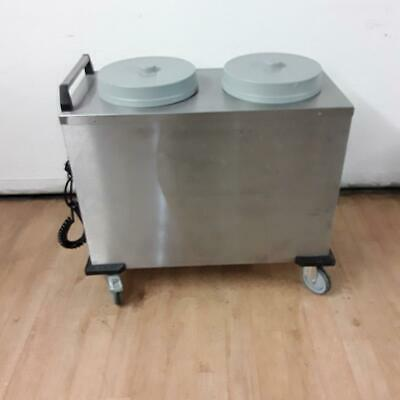 Commercial Lowerator Heated Plate Trolley  2 THN