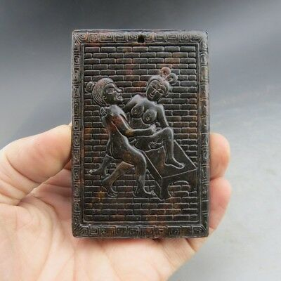 Chinese jade,noble collection,manual sculpture,jade,pornography,pendant X686