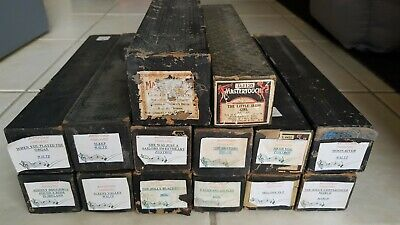 ANTIQUE VINTAGE PIANOLA PLAYER PIANO ROLLS x 14 POSTED AUSTRALIA WIDE
