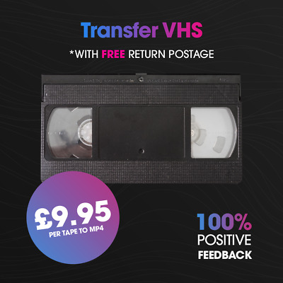 VHS or Betamax tapes to MP4 Download File