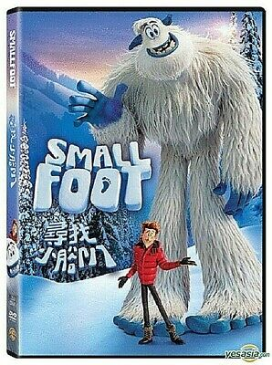 Small Foot DVD  Brand New (USA SELLER) FREE SAME DAY SHIPPING GET I IN 1-3 DAYS