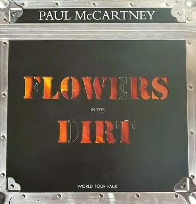 """Paul McCartney """"FLOWERS IN THE DIRT"""" WORLD TOUR PACK. Limited Edition."""