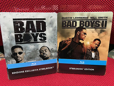 Blu-ray *** BAD BOYS 1 + 2 *** Steelbook