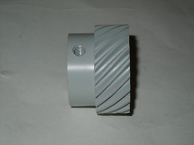 "Helical Gear 45 degree Left Hand  20 Teeth 1/2"" bore 3/16"" keyway"