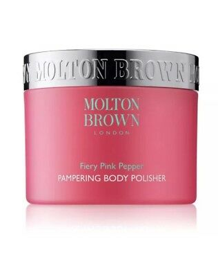 MOLTON BROWN FIERY PINK PEPPER PAMPERING BODY POLISHER 50ml~ Brand New Stock