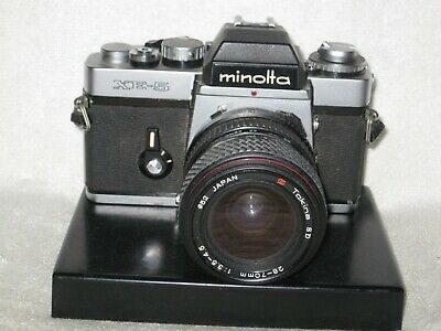Minolta XE-5 35mm SLR camera. Japanese made