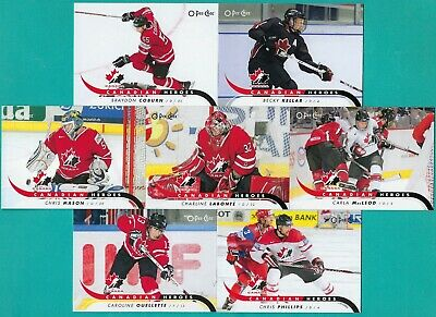 2009-10 O-Pee-Chee Canadian Heroes Inserts - Complete 42 Card Set