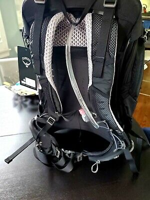 d45e771d609 Osprey Manta 34 Hiking Hydration Backpack; Black; BRAND NEW 2019 Version