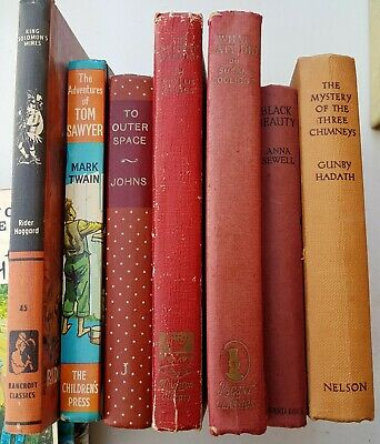 Collection of 7 vintage children's classic story books
