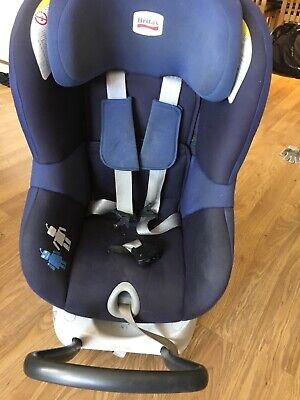 car seat britax 0-4 years forwards and rear facing isofix