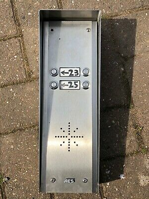 AES GSM Sim Card Gate / Entrance Intercom - 2G with 4 buttons