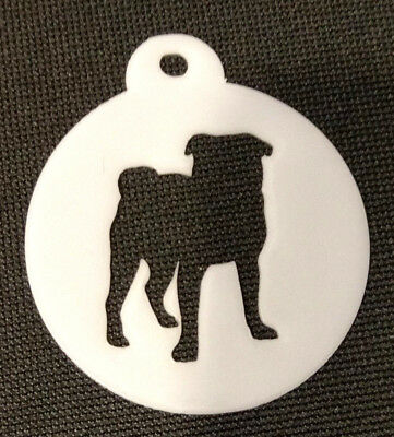 Shar Pei Dog Cupcake Cookie Biscuit Coffee Stencil 2 sizes available