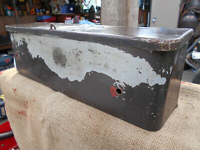 David brown tractor tool box in good original condition