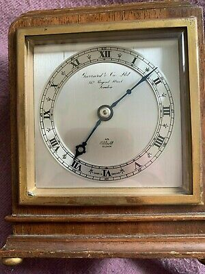 Elliott 8 Day Oak Cased Mantel Clock