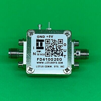 Frequency Divider/Prescaler Divide by 4 (10 to 26 GHz) FD410G26G