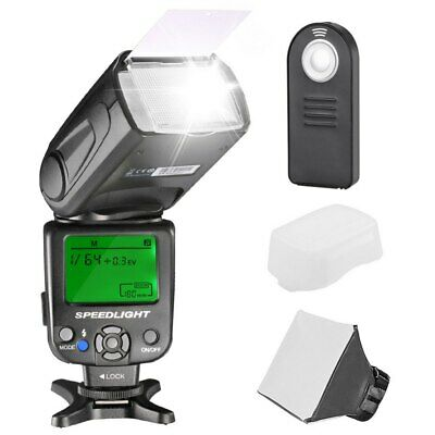 Neewer NW620 Manual Flash Speedlite Kit for Canon Nikon Panasonic Olympus