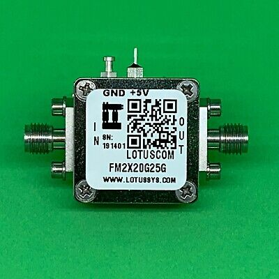 Active Freq. Multiplier X2 (OUTPUT 20 to 25 GHz) FM2X20G25G