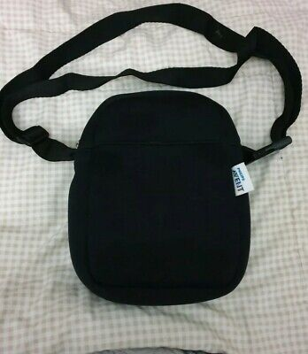 Avent Phillips Baby Bottle Bag Inulated Shoulder Bag Black Vgc