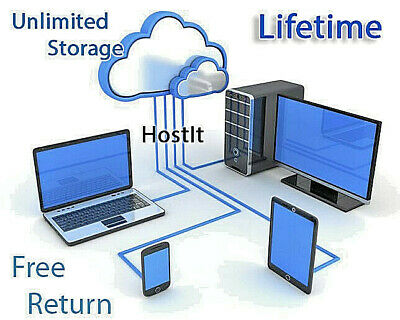 Unlimited Cloud Storage LIFETIME Pack - Private Host - Secure your files private
