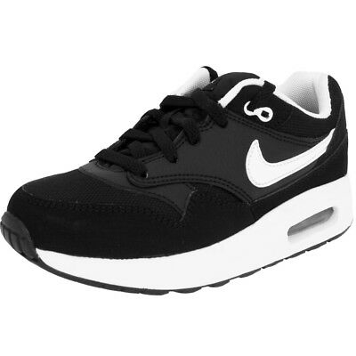 7207cc12fa INFANTS BOYS NIKE Air Max 1 (PS) Black White 807603 001 - EUR 46,37 ...