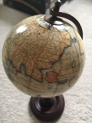 Mercator 1541 small terrestrial globe - new in box with tags - reproduction