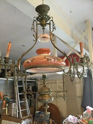 Huge French Chandelier ( Electrolier )