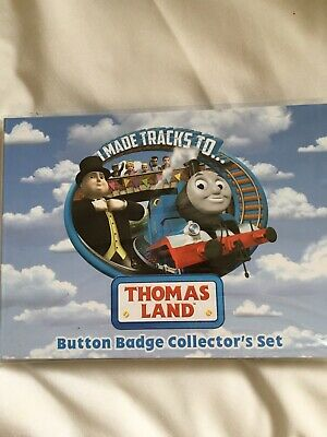 Thomas & Friends X10 Badge Collector's  Set From Thomas Land Drayton Manor
