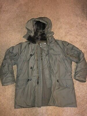 8415-00-376-17 U.S Military N-3B Extreme Cold Weather Parka NEW size Large NSN
