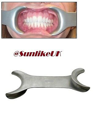 Dental Stainless Steel Cheek and Lip Tongue Mouth Opener Retractor Tissue 10cm
