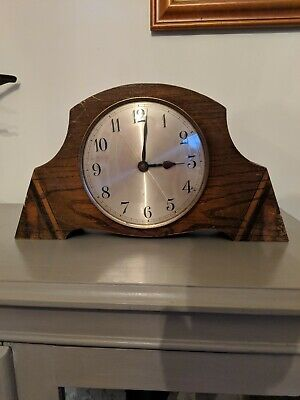 Vintage Mantle Clock For Restoration