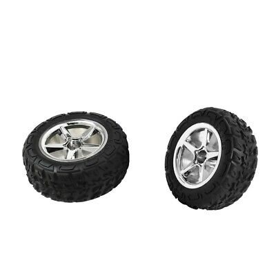 12mm Hub Wheel & Rubber Tyre(L&R) Set for 1/12 RC Car Replace Parts