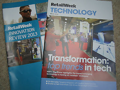 RETAIL WEEK professional retail magazine  2014 Techcnology/ Innovations Specials