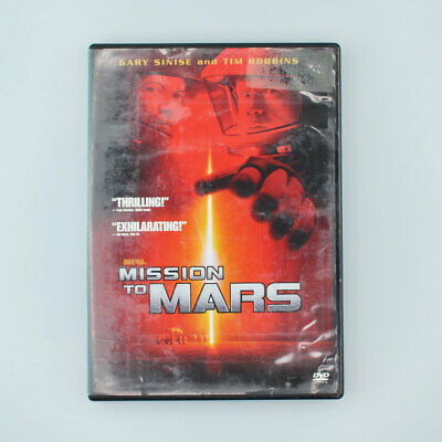 Mission to Mars (DVD, 2000, Special Edition) Tim Robbins, Gary Sinise