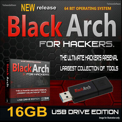 BLACK ARCH LINUX 64 bit INSTALL/BOOTSTRAP DVD - Penetration/Testing
